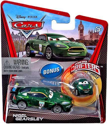 Mattel Disney Cars Micro Drifters Nigel Gearsley Diecast ...