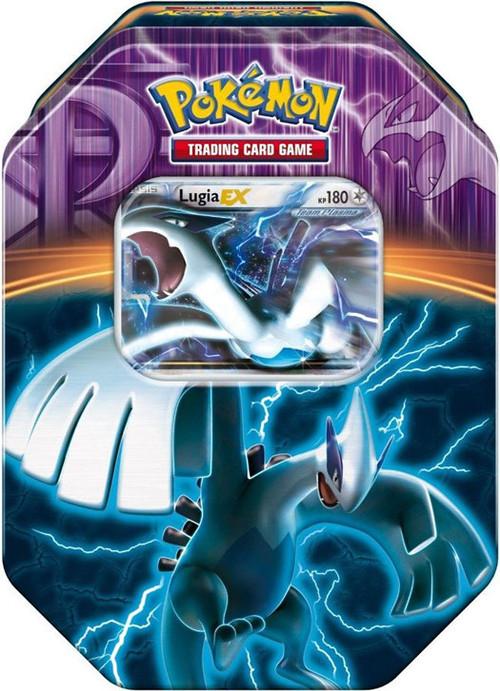 Pokemon black white fall 2013 team plasma lugia ex collector tin pokemon usa toywiz - Carte pokemon team plasma ...