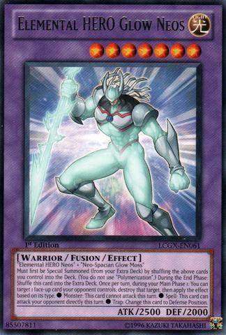 Yugioh Gx Elemental Hero Neos YuGiOh GX Legendary Co...