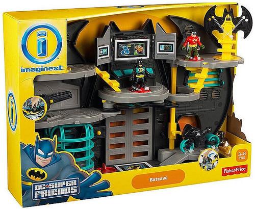 imaginext dc super friends batcave instructions