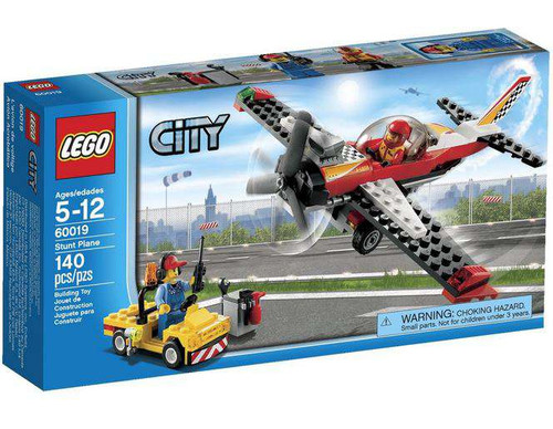 Lego City Stunt Plane Set #60019