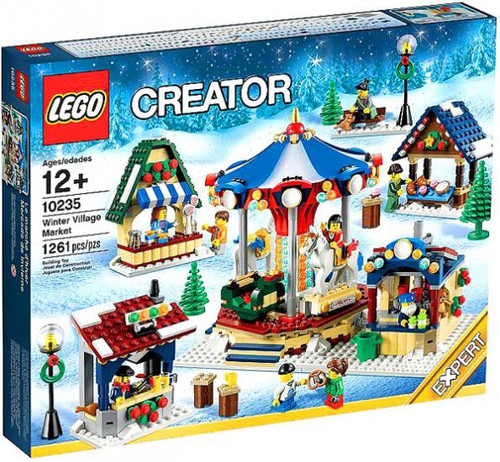 Lego Creator Winter Village Market Set #10235