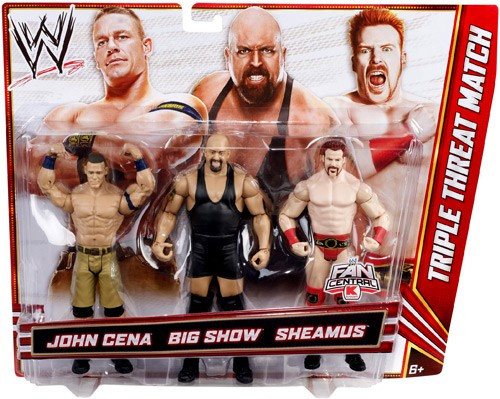 Wwe Wrestling John Cena Big Show Sheamus Exclusive Action
