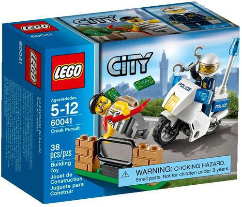 Lego City Crook Pursuit Set #60041