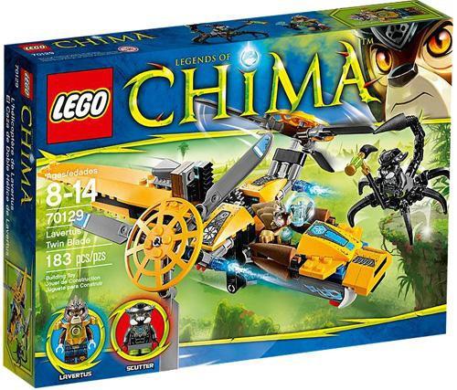 Lego Legends of Chima Lavertus' Twin Blade Set #70129