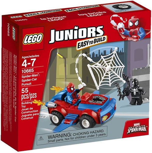 Lego Juniors Spider-Man: Spider-Car Pursuit Set #10665