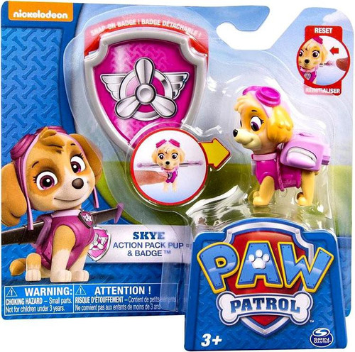 Adventure time action figures toys games compare prices at spin master paw patrol action pack badge skye figure voltagebd Choice Image