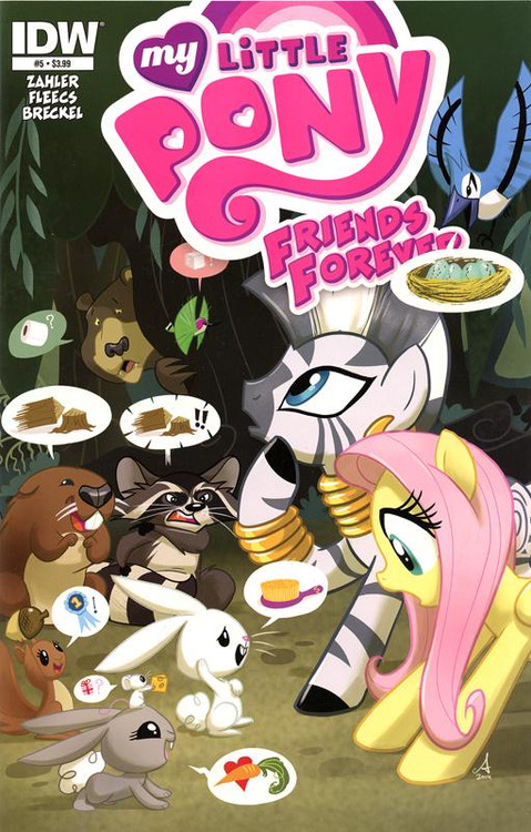 My Little Pony Friends Forever Comic Book #5