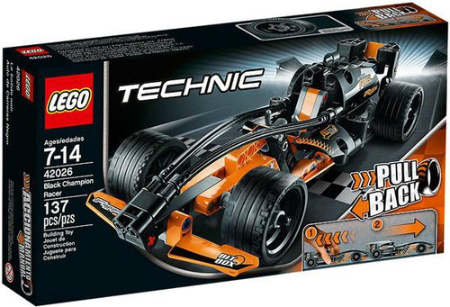 Lego Technic Black Champion Racer Set #42026