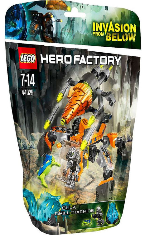 Lego Hero Factory BULK Drill Machine Set #44025