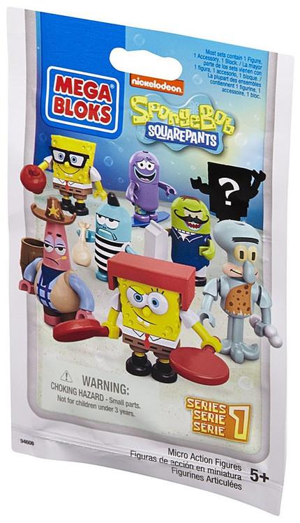 Mega Bloks Spongebob Squarepants Spongebob Squarepants ...