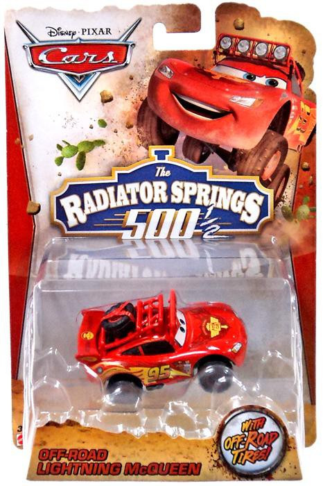 Cars Off Road Racing Lightning Mcqueen