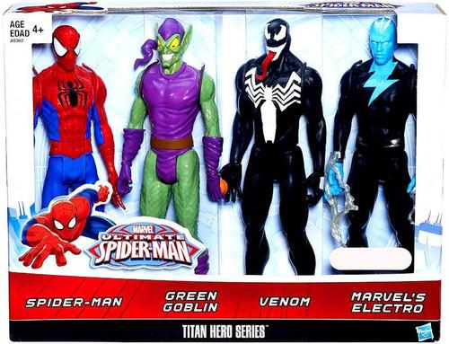 Ultimate Spider-Man Titan Hero Series Exclusive 12 Action ...