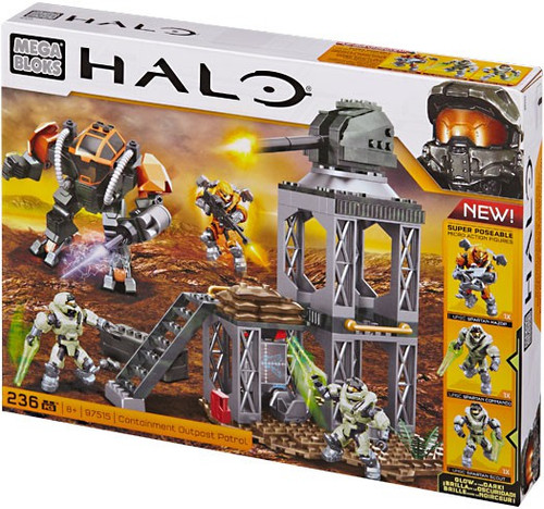 Halo Containment Outpost Patrol Set Mega Bloks 97515
