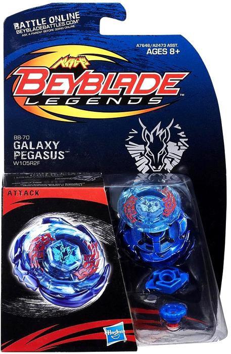 Hasbro Beyblade Legends Galaxy Pegasus Starter Set BB-70
