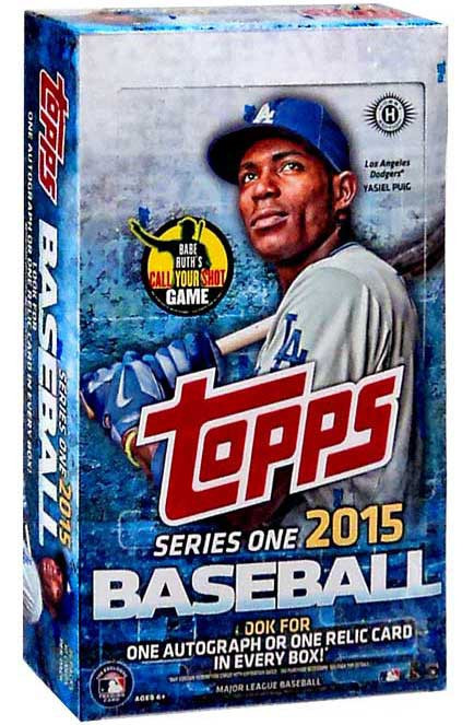MLB 2015 Topps Baseball Series 1 Trading Card HOBBY Box [...