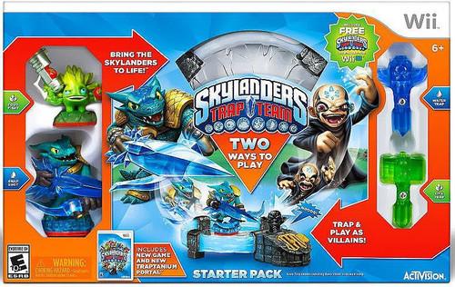 Activision Skylanders Trap Team Nintendo Wii Starter Pack
