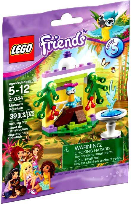 Lego Friends Macaws Fountain Set #41044
