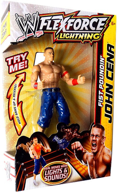 Mattel WWE Wrestling FlexForce Lightning Fist Poundin' Jo...