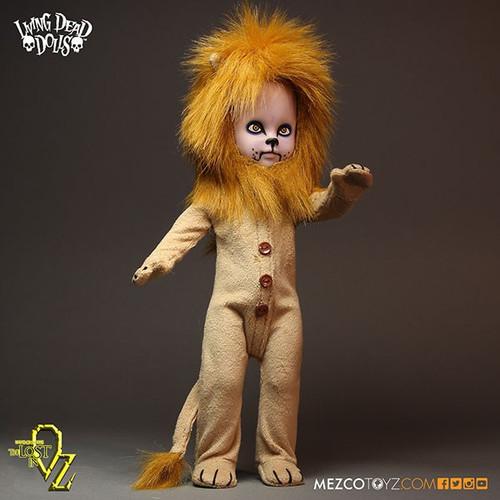 Mezco Toyz Living Dead Dolls Lost In Oz Teddy as The Lion...