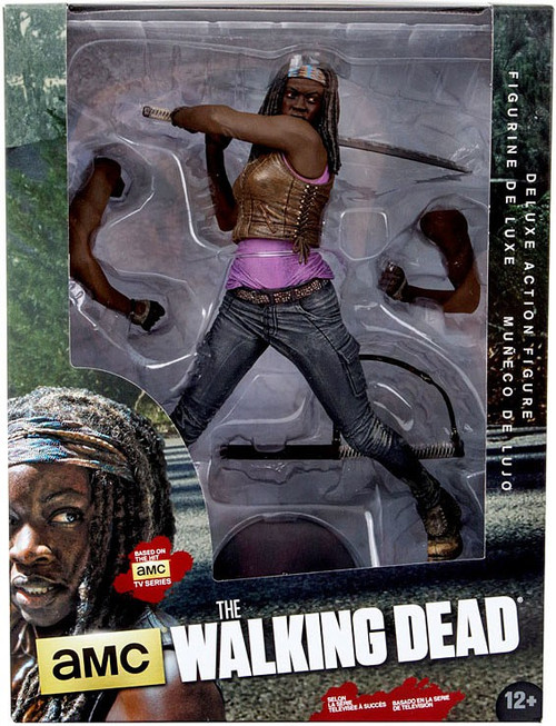 Mcfarlane Toys Walking Dead AMC TV Michonne Deluxe Action...