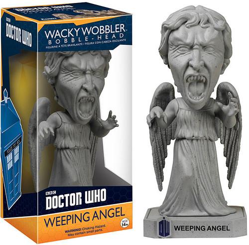 FUNKO INC. Doctor Who Wacky Wobbler Weeping Angel Bobble ...