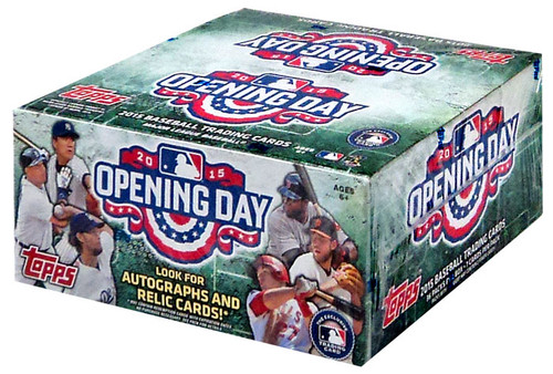 MLB 2015 Topps Baseball Cards 2015 Opening Day Trading Ca...