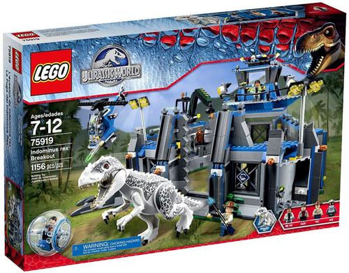 Lego Jurassic World Indominus Rex Breakout Set #75919