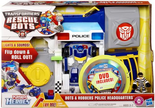 Transformers rescue bots playskool heroes bots robbers - Playskool helmet heroes police officer ...