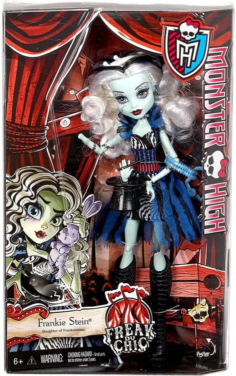Mattel Monster High Freak Du Chic Frankie Stein 10.5-Inch...