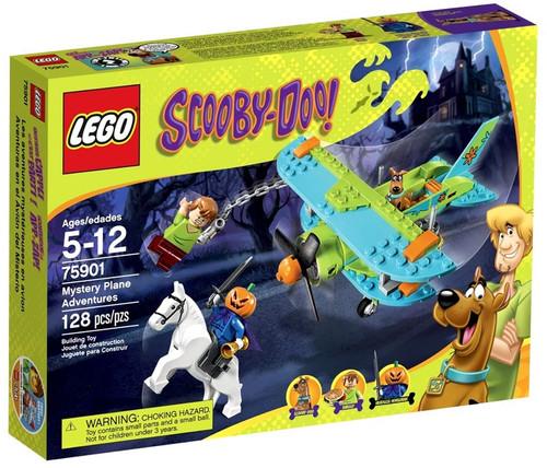 Lego Scooby-Doo Mystery Plane Adventures Set #75901