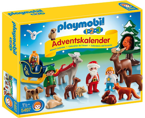 Playmobil Advent Calendar 1.2.3 Christmas in the Forest S...