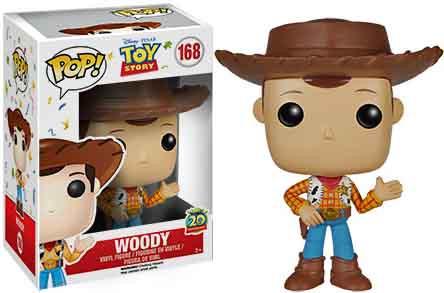FUNKO INC. Toy Story Funko POP Disney Woody Vinyl Figure ...