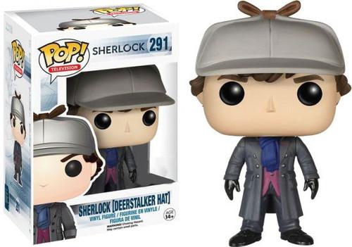 FUNKO INC. POP TV Sherlock Exclusive Vinyl Figure #291 [D...