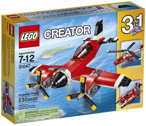 Lego Creator Propeller Plane Set #31047