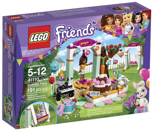 Lego Friends Birthday Party Set #41110