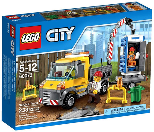 Lego City Service Truck Set #60073