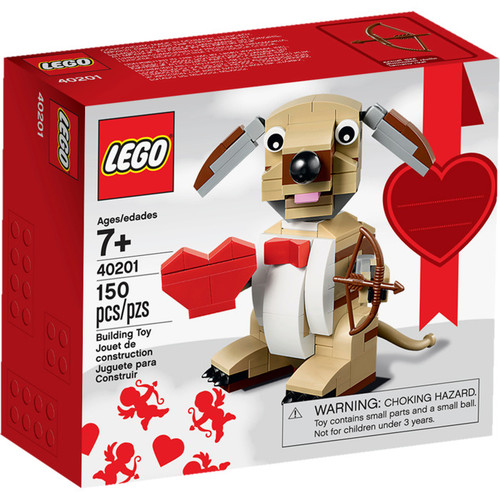 Lego Valentine's Day Valentines Cupid Dog Set #40201
