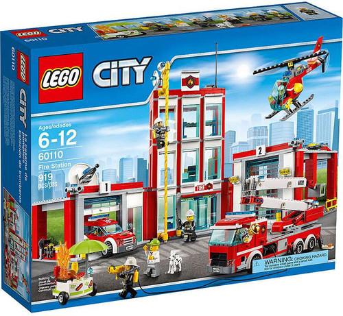 Lego City Fire Station Set #60110