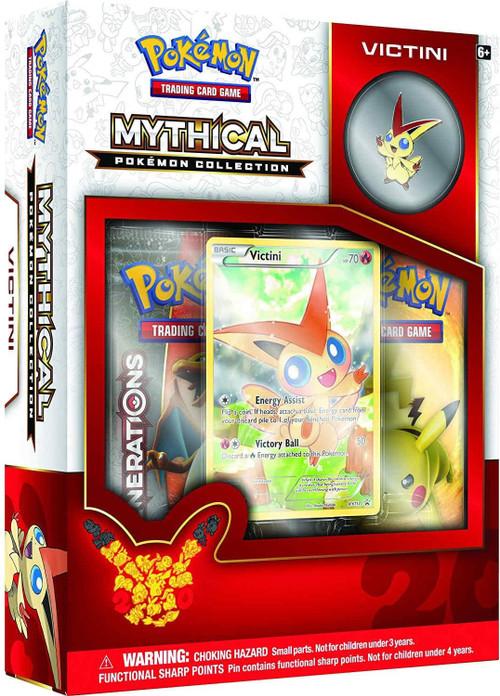 Pokemon Victini Mythical Collection Box