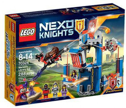 Lego Nexo Knights Merlok's Library 2.0 Exclusive Set #70324