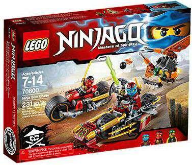 Lego Ninjago Ninja Bike Chase Set #70600