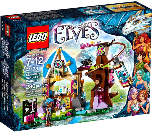 Lego Elves Elvendale School of Dragons Set #41173