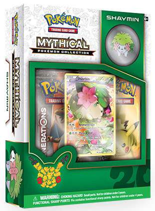 Pokemon Shaymin Mythical Collection Box