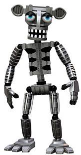 Funko Five Nights At Freddys Endoskeleton 2 Vinyl Mini