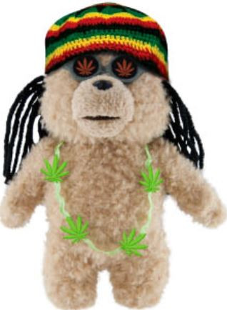 Commonwealth Ted Movie Ted 8-Inch Plush [Rasta Outfit]