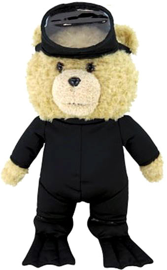 Commonwealth Ted 2 Ted in Scuba Gear 11-Inch Talking Plus...