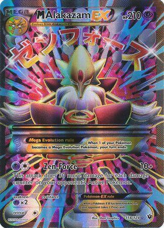 Pokemon X & Y Fates Collide Ultra Rare Holo Full Art Mega...