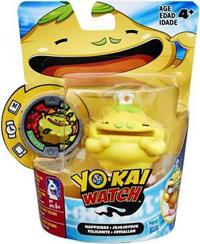 Yo kai watch medal moments happierre mini figure hasbro for Decoration yo kai watch