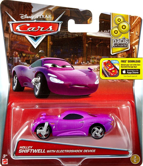 Disney pixar cars paris parts market holley shiftwell with for Salon pixar paris